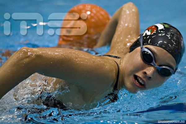 Berlin, 21. Juli: Tag 1, Abschnitt 1 (Vorläufe), der Weltmeisterschaften im Rettungsschwimmen der Nationalmannschaften am 21.7.2008 in Berlin. ***